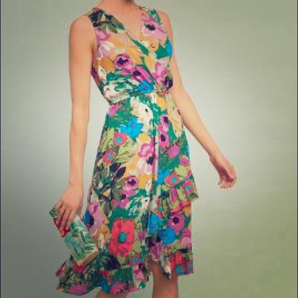 07128f35d78 Anthropologie Dresses   Skirts - Daphne Wrap Dress